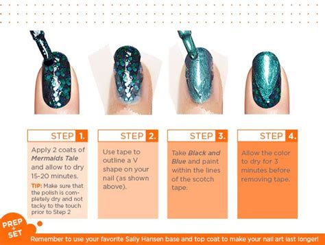 sally hansen led l 17 best images about handjobs nail designs schemes on