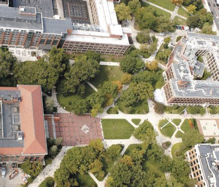 Michigan Ross Mba Visit by The Diag As Seen From The Air