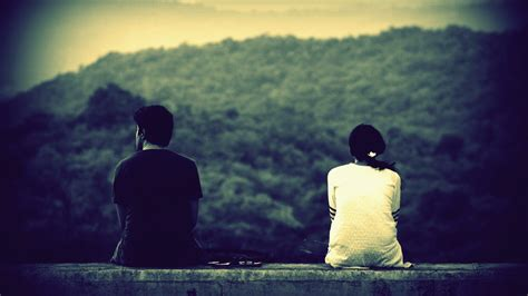 wallpaper of couple with thought thought 892302 walldevil