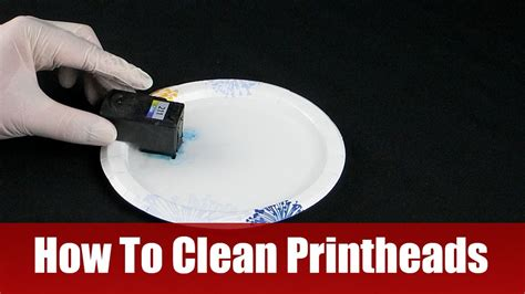 how to clean in how to clean printheads