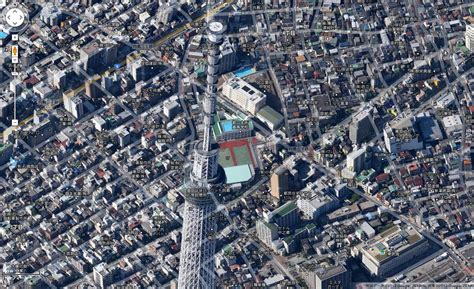 google tokyo google maps adds spectacular 45 degree aerial view to