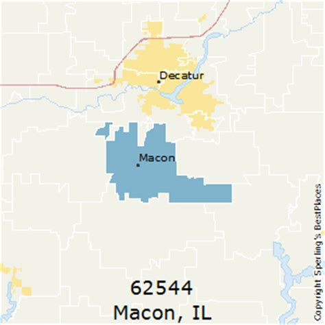 macon zip code map best places to live in macon zip 62544 illinois