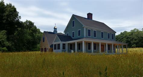 Colonial Farmhouse Plans The Farmhouse Colonial Exterior Trim And Siding The Farmhousecolonial Widows And Doors The