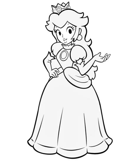cartoon coloring pages games princess peach coloring pages coloringsuite com