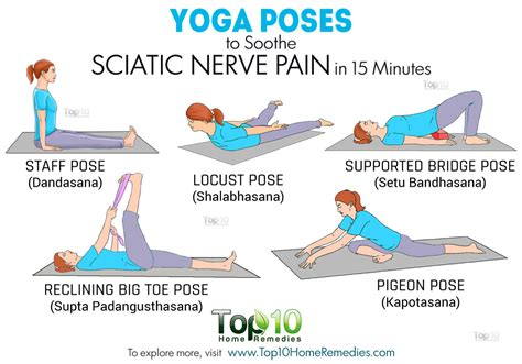 printable yoga poses for back pain yoga poses to soothe sciatic nerve pain in 15 minutes