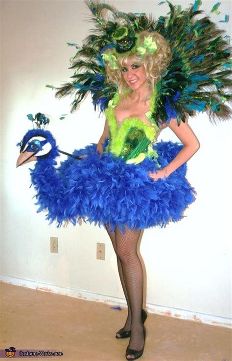 birds   feather peacock  flamingo costumes