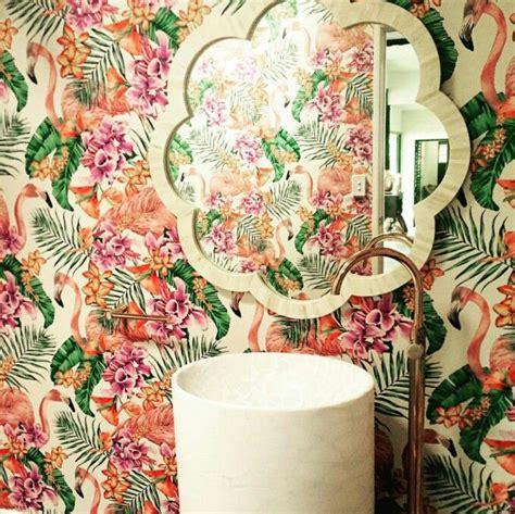 flamingo wallpaper matthew williamson 66 best images about wallpaper on pinterest balloon