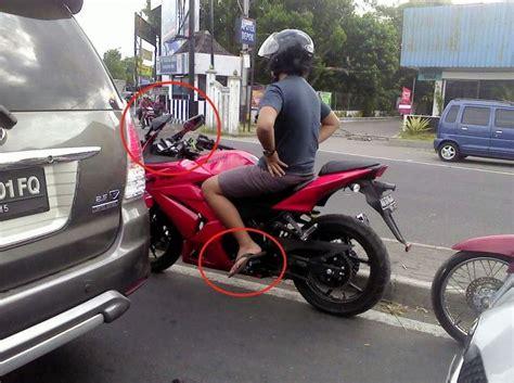 Spion Motor Honda Aspira melipat kaca spion di motor fairing elangjalanan net