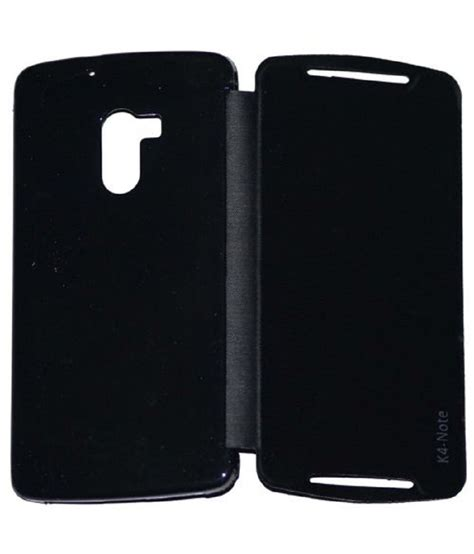 Lenovo K4 Note Premium Flip Soft Casing Cover Bumper Sarung lenovo k4 note flip cover by colorcase black flip covers at low prices snapdeal india