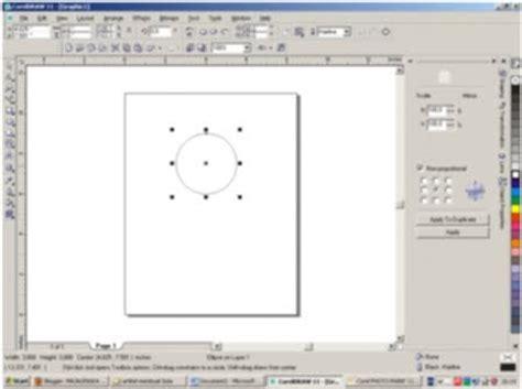 membuat proposal dengan coreldraw membuat bola tak bayangan dua dimensi dengan coreldraw
