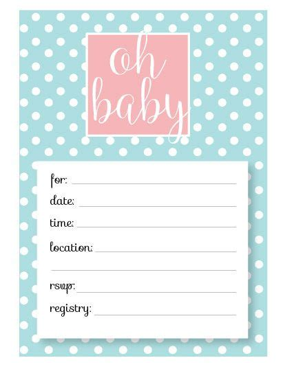 library card template baby shower free baby shower invitations free downloadable templates bes on