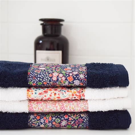 Handmade Towels - handmade gifts liberty towels she