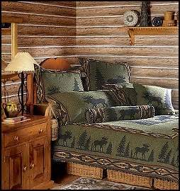 Moose Themed Home Decor Lodge Cabin Log Cabin Themed Bedroom Decorating Ideas Moose Fishing Cing Lodge