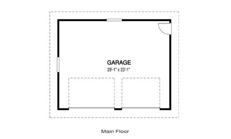garage floor plan house plans garage a linwood custom homes
