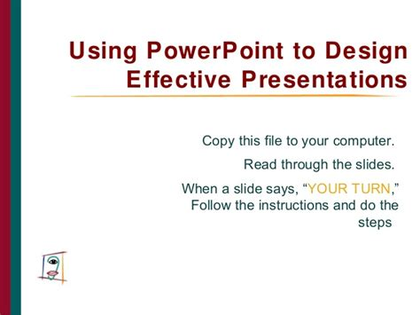 design effective powerpoint presentation using powerpoint to design effective presentations