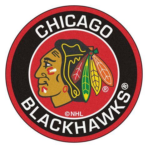 chicago boat show logo chicago blackhawks logo roundel mat 27 quot