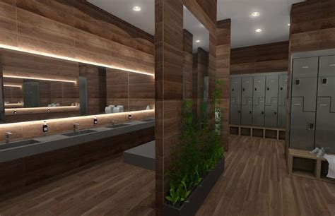 gym bathroom bathrooms of crossfit solace renderings of a new luxury