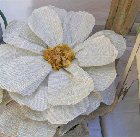 Make Large Paper Flowers - paper flowers