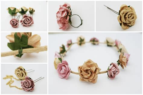 diy flower crown eat the catwalk diy crown of flowers