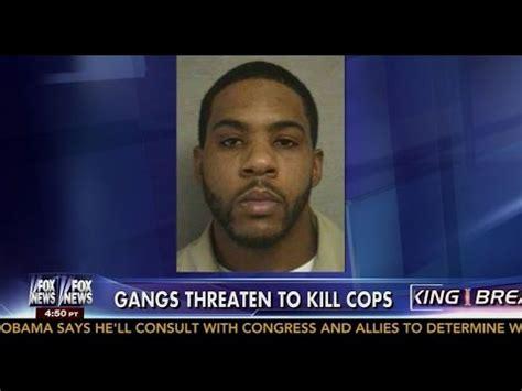 jersey cops  high alert  bloods gang threaten