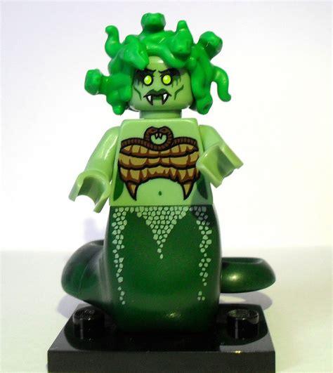 Lego Mini Figure Series 10 Medusa medusa brickipedia fandom powered by wikia