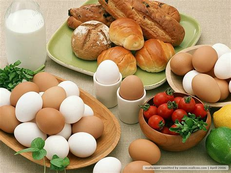 Food Wallpaper Kitchen by Eggs And Bread Photos Eggs In Kitchen 11 Wallcoo Net