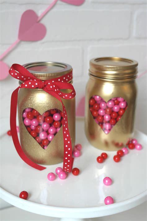 diy crafts for valentines diy s day jars