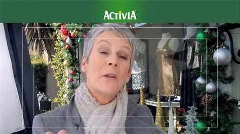 yogurt commercial actress activia tv commercial christmas decorations featuring