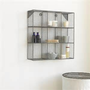 wire bathroom shelving bathroom wall storage unit waffle loaf