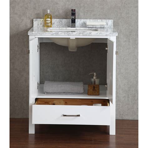 buy vincent 30 inch solid wood bathroom vanity in