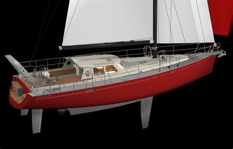 New Construction House Plans Aluminum Centerboarder Sailboat For Expedition And Round