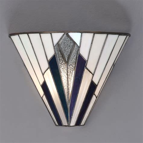 art deco wall decor astoria range art deco tiffany wall light