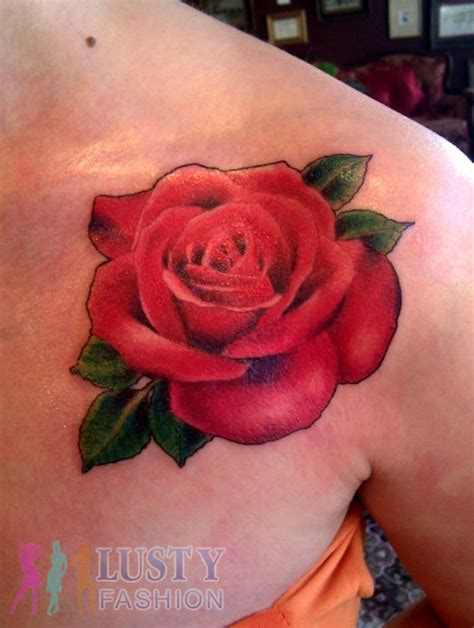 rose tr st tattoos 65 trendy roses shoulder tattoos