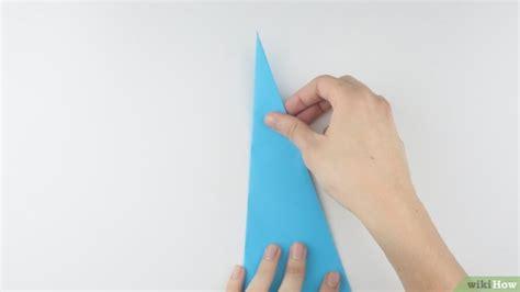 How To Make A Paper N - 3 formas de hacer un avi 243 n de papel wikihow