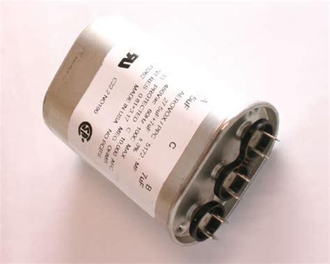 aerovox capacitor 2779 mf 5172 mf aerovox ppc capacitor 27 5uf 480v application motor run 2020006113