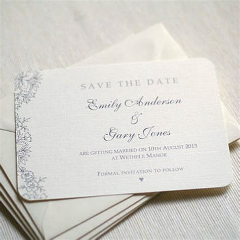 vintage save the date card templates vintage lace wedding save the date cards by beautiful