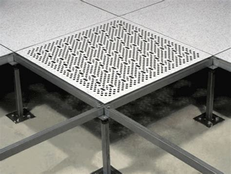 perforated directional airflow panel tate access floors