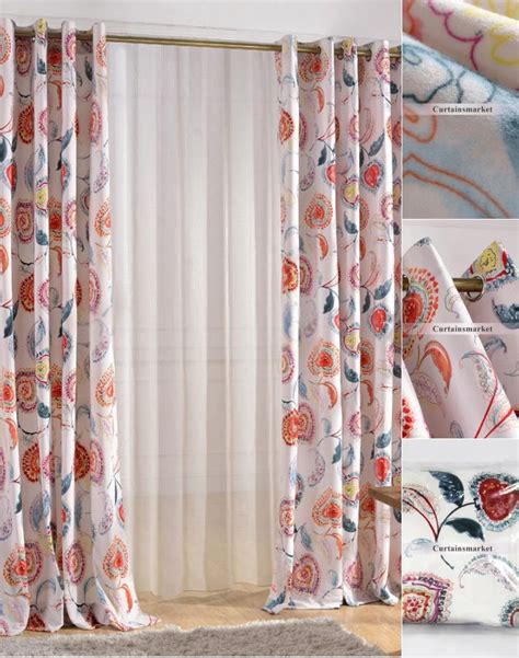 best curtains online designer curtains online in colorful floral patterns