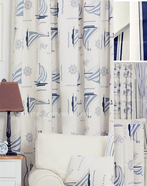 sewing simple curtains fun room darkening cotton blue print sew simple curtains
