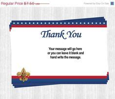 cub scout thank you card template 1000 images about eagle court of honor on