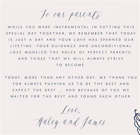 appreciation letter after a wedding how to write a thank you letter to your parents parents
