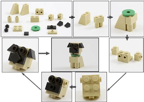 lego dog house instructions build your own lego oliver twist the pug dog instructions the brothers brick the brothers