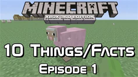 10 Things You Might Not Know About Minecraft Xbox - 10 things you might not know about minecraft xbox