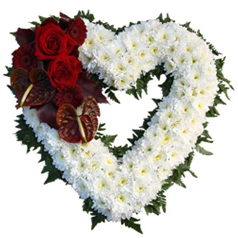 Indoor Plants Uk funeral hearts funeral hearts from flowers4