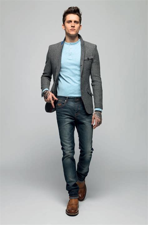 how to wear a blazer jacket with jeans mens style guide can you pull off the suit jacket sport coat with jeans look