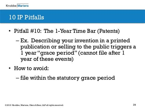 design application grace period 10 intellectual property pitfalls every startup should avoid