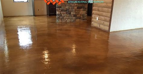 Flooring Wichita Falls Tx by Stained Concrete Overlay By Texoma Concrete Effects In