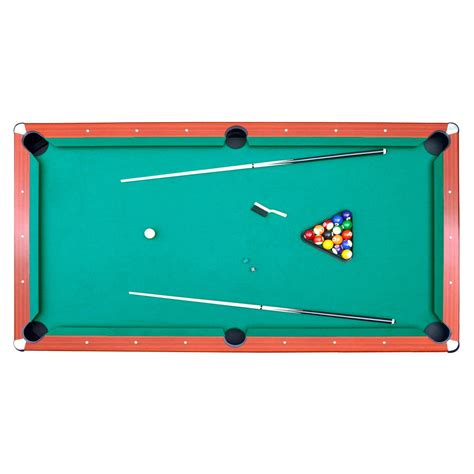 pro table top green felt surface 8 ft deluxe pool table gametablesonline com