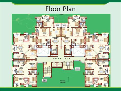 green floor plans floor plans green park an residential project at lucknow