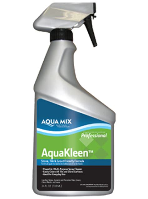 Kleen Up Tile Grout Cleaner 6pcs aqua mix cleaners custom building products
